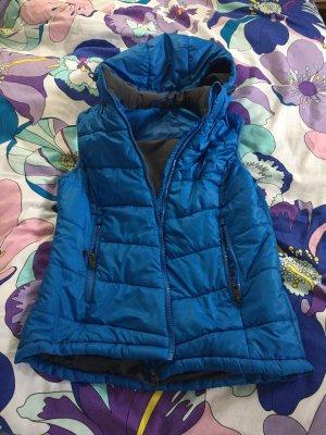 H&M Chaleco con capucha multicolor