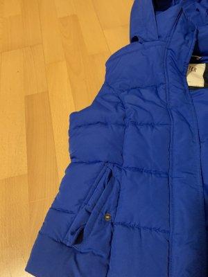 Hollister Pikowana kamizelka niebieski