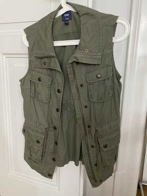 Gap Sports Vests green grey-khaki