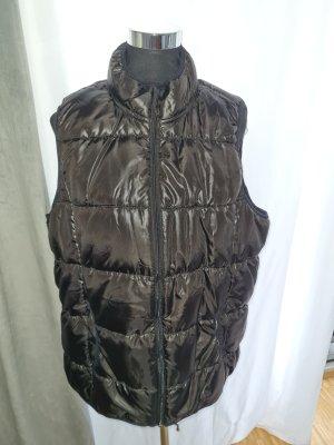 Down Vest black-taupe