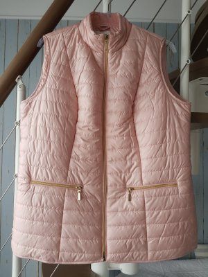 Paola! Quilted Gilet dusky pink
