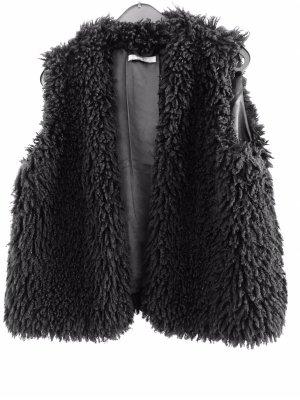 Gina Tricot Fur vest black