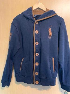 Polo Ralph Lauren Veste chemise cognac-bleu foncé