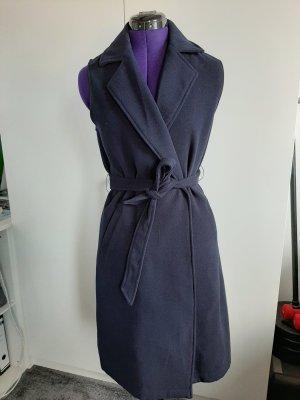 New Look Gilet polaire bleu foncé