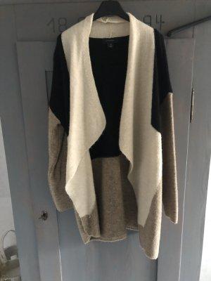 Weste Jacke schwarz creme beige Jacke Atmosphere Primark