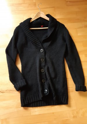 Esprit Long Knitted Vest black