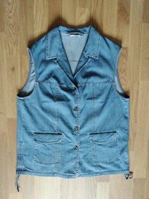 keine Gilet en jean bleu coton