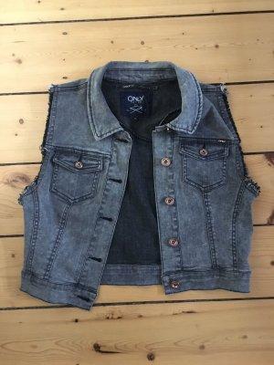 Only Smanicato jeans antracite-grigio scuro