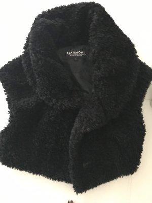 Beaumont Fake Fur Vest black
