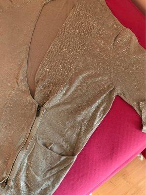 Pennyblack Smanicato lavorato a maglia grigio chiaro-argento Cotone