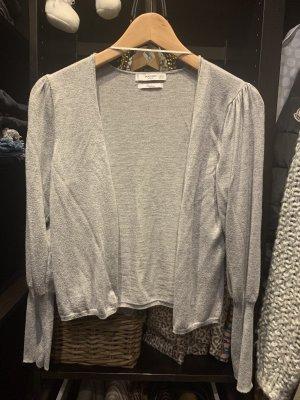Mango Basics Smanicato lavorato a maglia grigio chiaro