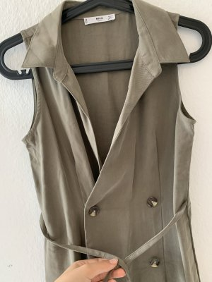 Mango casual Trench marrone-grigio