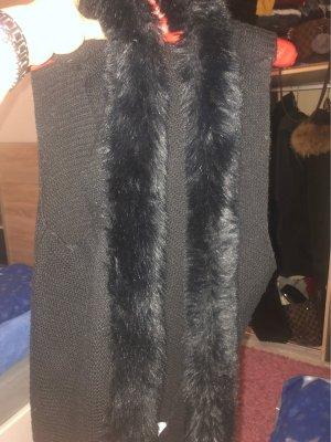 Blue Seven Knitted Vest black