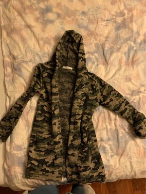 Weste mit Camouflage Muster