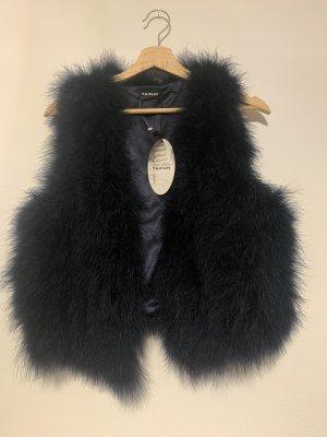 Taifun Fur vest dark blue