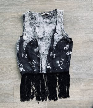 Fringed Vest multicolored polyester