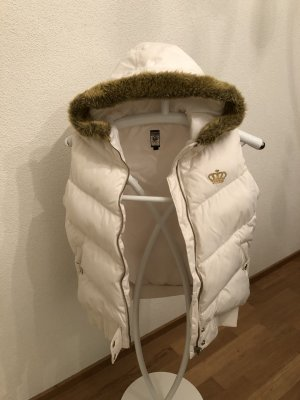Adidas Down Vest white