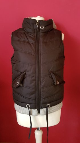 X-Mail Quilted Gilet black