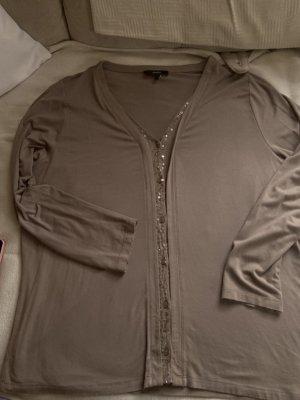 Bongenie Grieder Giacca-camicia grigio-verde