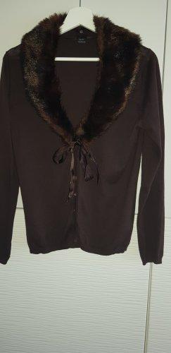 Esprit Robe en laine brun