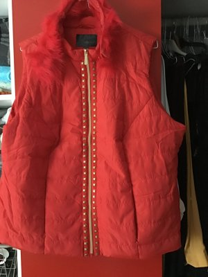 Bon Prix Quilted Gilet red-sand brown