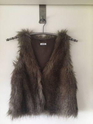 Pimkie Fur vest multicolored