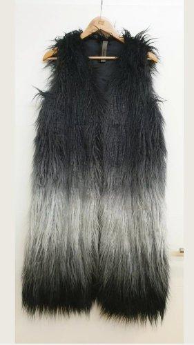 Montgomery Fur vest dark grey