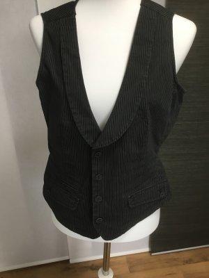 Esprit Denim Vest black-white