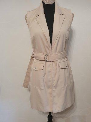 Amisu Robe manteau beige clair
