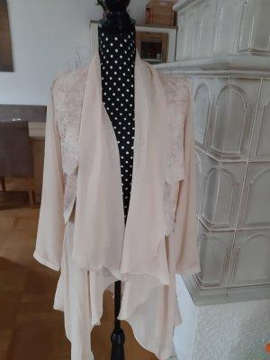 NÜ Denmark Blouse Jacket nude viscose