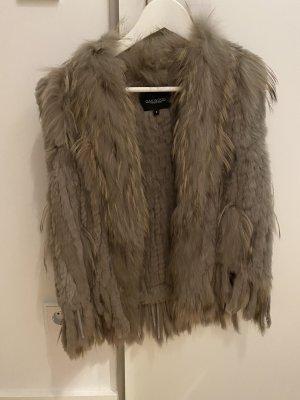 Oakwood Fur vest multicolored