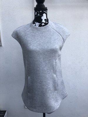 Zara Gilet de sport gris clair