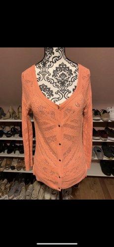 american eagle Cardigan tricotés abricot