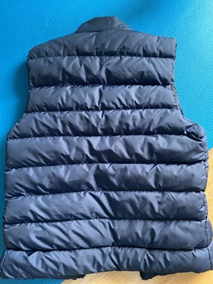 Prada Pikowana kamizelka ciemnoniebieski