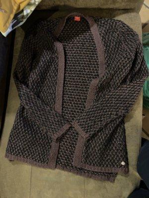 s.Oliver Knitted Vest black-lilac