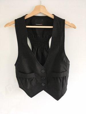 Fishbone Gilet de costume noir