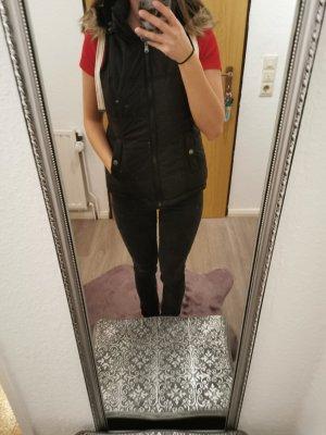 Blind Date Chaleco con capucha negro