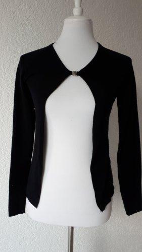 Weste,Shirt,Cardigan in schwarz,Gr.S/36