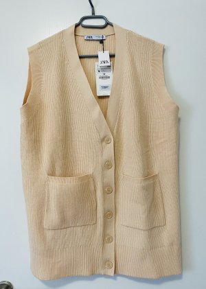 Zara Knitted Vest multicolored