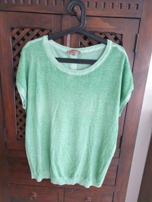 Comma Gilet tricoté vert clair