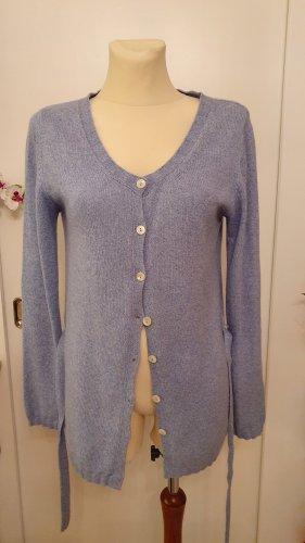 Massimo Rebecchi Alpha Knitted Vest blue mixture fibre