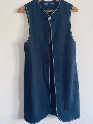 Zara Biker vest donkerblauw
