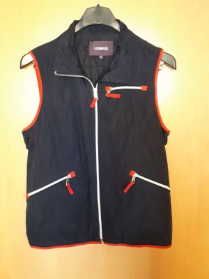 Anonyme Designers Sports Vests dark blue-red polyester