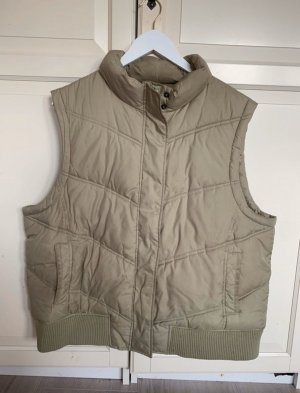 Gap Quilted Gilet sage green