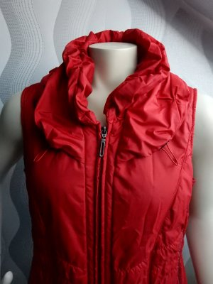 Gelco Quilted Gilet red-dark red