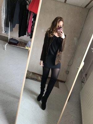 H&M Knitted Vest black-brown