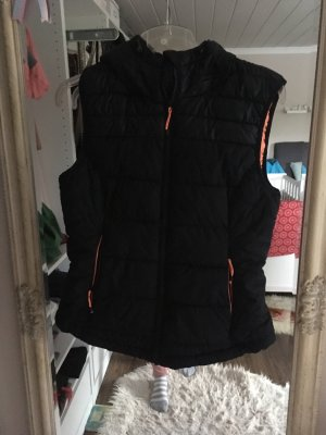 H&M Hooded Vest multicolored polyester
