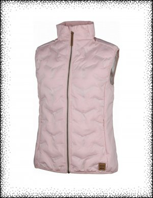 High Colorado Quilted Gilet pink