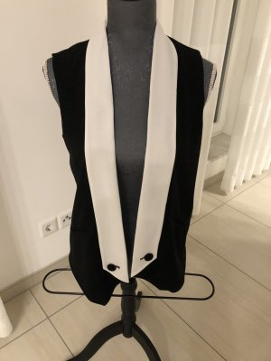 Oasis Reversible Vest black-white