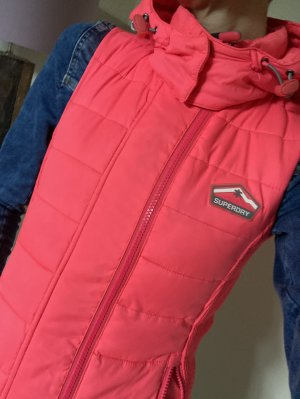 SUPER DRY Hooded Vest multicolored